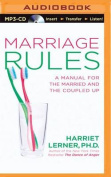 Marriage Rules [Audio]