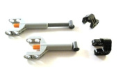 "LEGO TECHNIC - 2 x "" Mechanical control cylinder (Linear Actuator) mini with brackets """