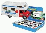 Die-cast Camper Van with Beach Scene, 1-pc