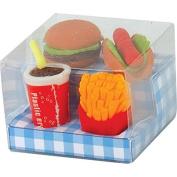 Fast Food Erasers 5+