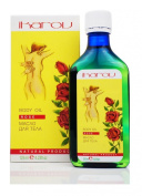Body Massage Oil Rose Against Low Mood, Stress & Anxiety With Essential Oils of Rose, Geranium, Juniperberry & Eucalyptus 125 ml