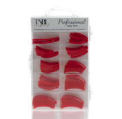 TNBL Professional Red Nail Tips Box of 100