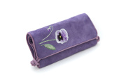 Seek Unique - Lilac Blossom Design - Jewellery Travel Roll Case