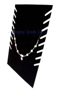 Black Velvet Multi Necklace Display