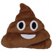 Emoji Poo Shape Pillow Cushion Stuffed Plush Toy