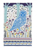 Woodland Owl Cotton Tea Towel by Ulster Weavers