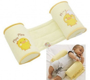mr.caller New Born Baby Toddler Safe Cotton Anti Roll Pillow Sleep Head Positioner Uk