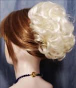 HAYLEY Clip On Hairpiece by Mona Lisa - 613A White Blonde