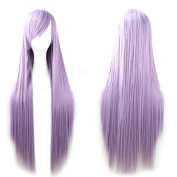 "Rbenxia 32"" 80cm Cosplay Hair Wig Long Straight Hair Heat Resistant Costume Party Full Wigs"