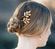 Oyang Fashion Leaves Jewellery Crystal Hair Clips Hairpin - for hair clip hairpins Beauty Tools-Y4