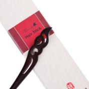 Breezelike Handmade Carved Ebony (Black Sandalwood) Hair Stick