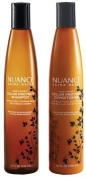 Nuance Salma Hayek Raw Honey Colour Protect Shampoo Plus Raw Honey Colour Protect Conditioner 300ml Each [Bundle of 2 Items]