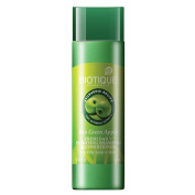 """Biotique Bio Green Apple FRESH DAILY PURIFYING SHAMPOO and CONDITIONER For Oily Hair and Scalp, 120ml- """"Expedited International Delivery by USPS / FedEx """""""