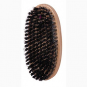 Magic Reinforced Boar Bristle Medium Palm Brush #7703 - 2 pieces, For all hair types, short hair, long hair, adults and kids, reinforced bristles, boar, bristles, won't pull on your hair, natural wood, palm, natural, professional, high quality