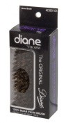 Diane Original 13cm Palm Brush DBB105, Detangles your hair, knots, extra firm, boar bristles, for all hair types, short and long hair, won't pull on hair, adults and kids, men and women, boys and girls