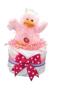 Nappy Cake / Quacking Duck Mini Nappy Cake