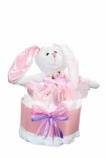 Nappy Cake/ Ballerina- Bunny Nappy Cake/ Ballerina Baby Shower/ Baby Shower Centrepiece