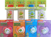Teenage Mutant Ninja Turtles Baby Feeding Set and Pacifiers-BPA FREE-for the Fast, Ready to Go, Cool and Hispter MOM or DAD