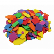 Foam Shapes Asst Colours 720 Pcs
