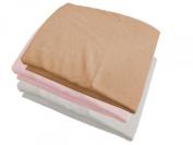 Portable Mini Crib Fitted Mattress Crib Sheet 100cm x 60cm x 13cm - 2 Pack (Girls Multi Pack