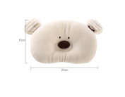 Olyer Newborn Infant Prevent From Flat Head Toddle Baby Head Support Pillow BEAR