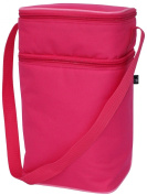 J L Childress 6 Bottle Cooler - One Size - Pink/Light Pink