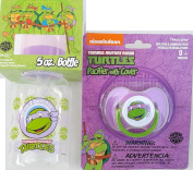 Teenage Mutant Ninja Turtles Donatello-Feeding Bottle and Pacifier for the Fast and Ready to Go MOM