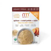 NurturMe Organic Infant Cereal, Quinoa, Raisin and Sweet Potato, 110ml