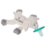 Mary Meyer Plush White Baby Blessing Lamb Wubbanub with Soothie Pacifier ~New~