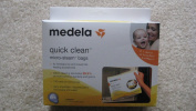Medela Quick Clean Micro-Steam Bags Pack of 4
