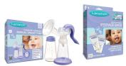 Lansinoh Comfort Express Manual Breast Pump with Milk Storage Bags