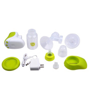 Gland ® Single Electric Breast Pump Breastfeeding Pump for Nursing Moms BPA Free, Green, with LCD Display and Compact Design