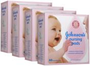 Johnson & Johnson Contour Nursing Pads - 60 ct - 4 pk