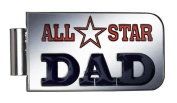 All Star Dad Metal Money and Card Clip - By Ganz