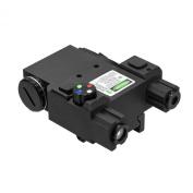 Ncstar Green Laser & 4 Colour NAV LED w/QR Mount/BLK - VLG4NVQRB