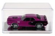 6 Clear Acrylic Display Cases (With Mirror) For 1:24 Scale Cars - 23cm x 11cm x 10cm