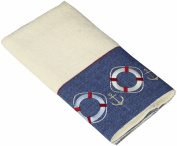 Avanti Linens Life Preservers Ii Hand Towel, Ivory