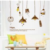 KAKA(TM) Wall Door Window Desk Sticker Decor Paper Decals Removable Art For Kids Children