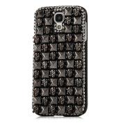 EVTECH(TM) for Samsung Galaxy Mega 2 G750 G750A G750H G750F 3D Handmade Fashion Crystal Rhinestone Bling Case Cover Hard Case Clear(100% Handcrafted)