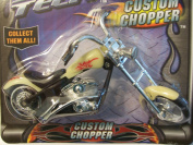 Street Tech Custom Chopper ~ Ivory with Red Detail