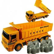 Friction Powered Super Heavy Machine Construction Dump Truck Toy for Kids