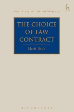 The Choice of Law Contract (Studies in Private International Law)