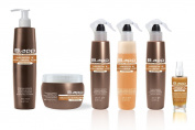 B.App Argan Oil & Hyaluronic Acid Complete Hydrating Hair System Gift Set