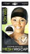 DO IT YOURSELF MESH DOME WIG CAP COOL MESH SPANDEX WITH WIDE ELASTIC BAND DIY001