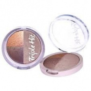 Look Beauty Triple hit trio eyeshadow La Luxe!
