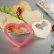 Home DIY Cookie Cutter Sandwich Toast Bread Mould Maker Heart Design Kitchen Tool