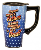 Anyone Can Be a Father - It takes someone special to be a Dad commuter Coffee cup Tea ceramic Travel MUG