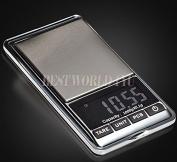 0.1g to 1000g Maximum 1kg Digital Weight Electronic Platform Kitchen Scale Pocket Balance Scales Black Mini