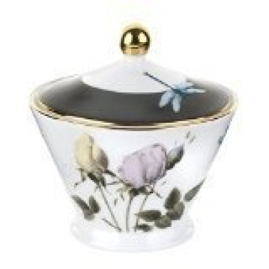 Ted Baker Portmeiron Rosie Lee White Covered Sugar Bowl