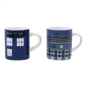Doctor Who Tardis & Dalek Set Of 2 Mini Mugs